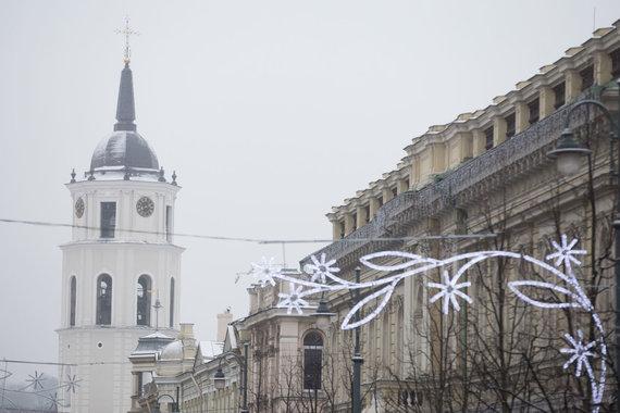 Žygimanto Gedvilos / 15min nuotr./Žiema Vilniuje