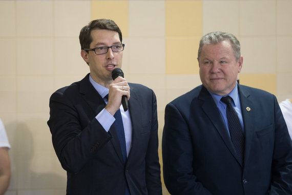 Žygimanto Gedvilos / 15min nuotr./Emilis Vaitkaitis (kairėje)