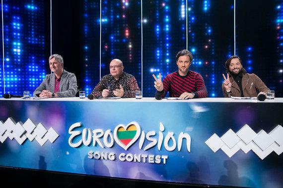 """Žygimanto Gedvilos / 15min nuotr./""""Eurovizijos"""" atrankos akimirka"""