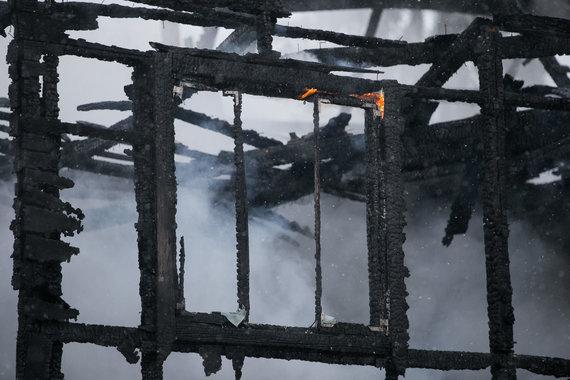 Žygimanto Gedvilos / 15min nuotr./Asociatyvi iliustracija: sudegęs gyvenamasis namas