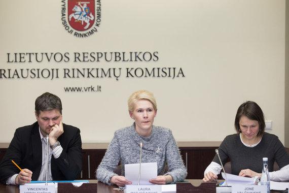 Žygimanto Gedvilos / 15min nuotr./Vincentas Vobolevičius, Laura Matjošaitytė ir Jonė Valčiukienė