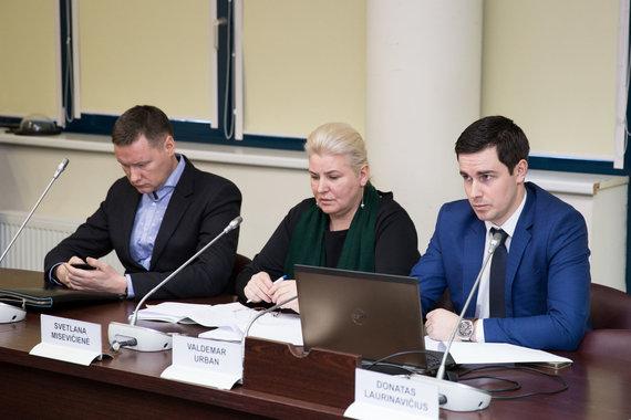 Žygimanto Gedvilos / 15min nuotr./Darijus Beinoravičius, Svetlana Misevičienė ir Valdemar Urban