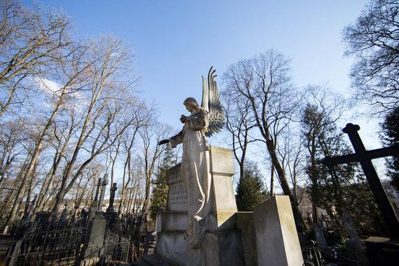 Žygimanto Gedvilos / 15min nuotr./Bernardinų kapinės