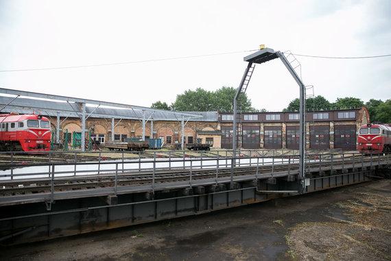 Žygimanto Gedvilos / 15min nuotr./Vilniaus geležinkelio stoties teritorija