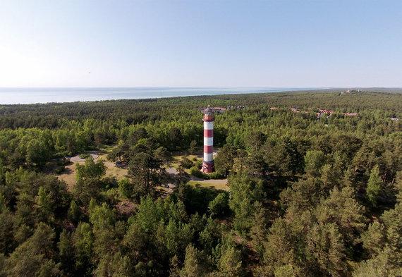 Vytauto Kandroto nuotr/Nidos švyturio aukštis siekia 29.3 m