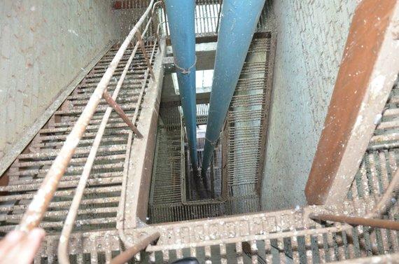 JP.lt nuotr./Apleistas vandens bokštas Panevėžyje
