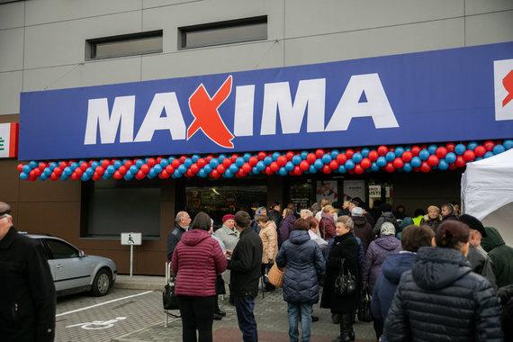 """""""Maxima"""" nuotr./Šalčininkuose po atnaujinimo atidaryta """"Maxima"""""""