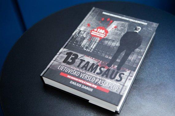 """Josvydo Elinsko / 15min nuotr./Dailius Dargis """"13 tamsaus lietuviško verslo paslapčių"""""""