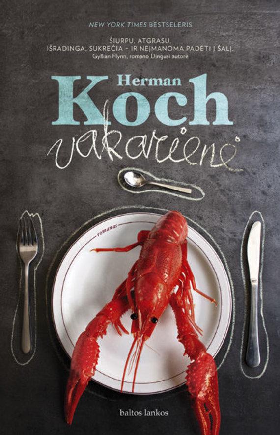 """Knygos viršelis/Hermanas Kochas """"Vakarienė"""""""