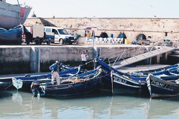 Aistės Simėnaitės nuotr./Žvejų turgus Essaouira