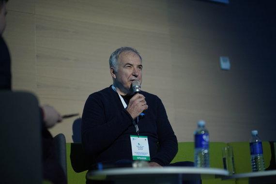"""Edvino Sinkevičiaus nuotr./""""The Journey of Success"""" diskusijos akimirkos"""