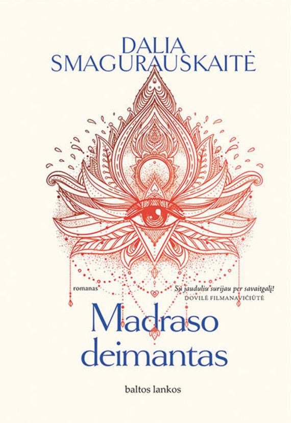 """Knygos viršelis/Dalia Smagurauskaitė """"Madraso deimantas"""""""