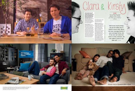 LGL nuotr./LGBT draugiškos IKEA reklamos