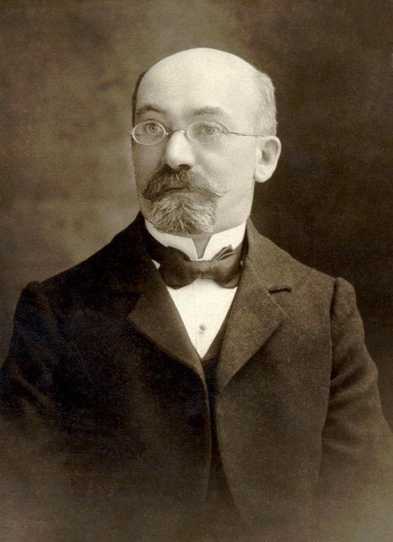 wikipedia.org nuotr./Esperanto kalbos kūrėjas Ludwikas Lejzeris Zamenhofas
