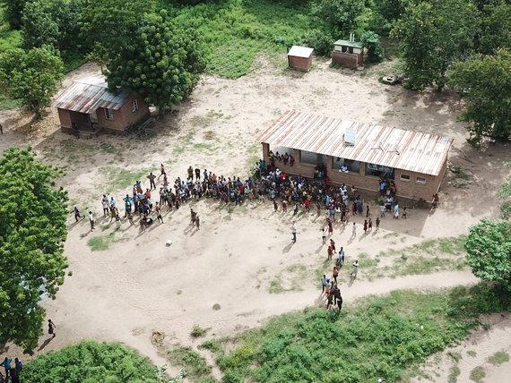 Asmeninio archyvo nuotr./Tautvydo Juškausko UNICEF misija Malavyje