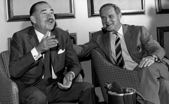 Leidyklos nuotr./A.Galando draugystė su D.Baderiu nenutrūko ir po karo.