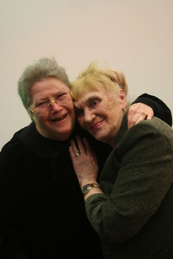 A.Brazaičio nuotr./Colleen McCullough ir Galina Dauguvietytė