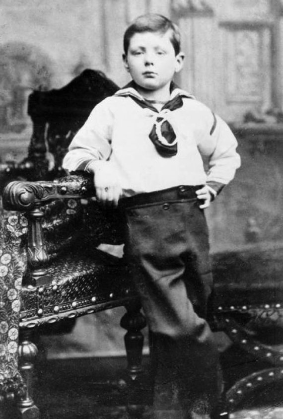 Leidyklos nuotr./W.Churchillio vaikystės nuotrauka.