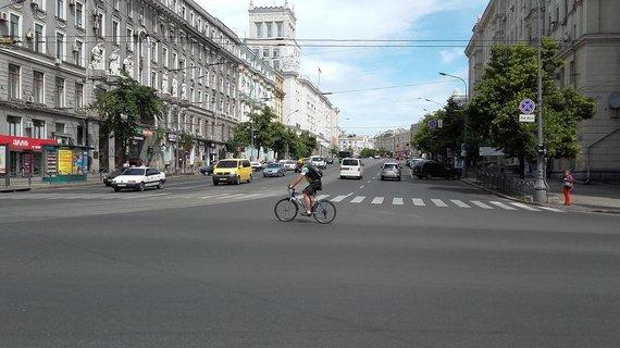 Vaido Mikaičio nuotr./Vaizdai iš Charkovo centro