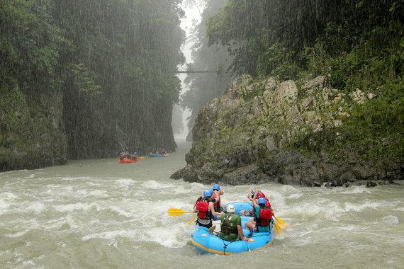 Shutterstock nuotr./Pacuare upė, Kosta Rika