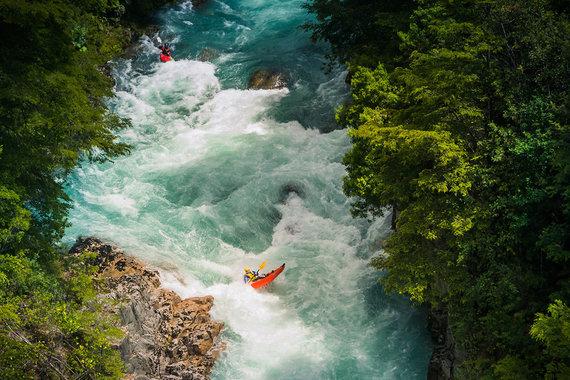 Shutterstock nuotr./Futaleufu upė, Čilė