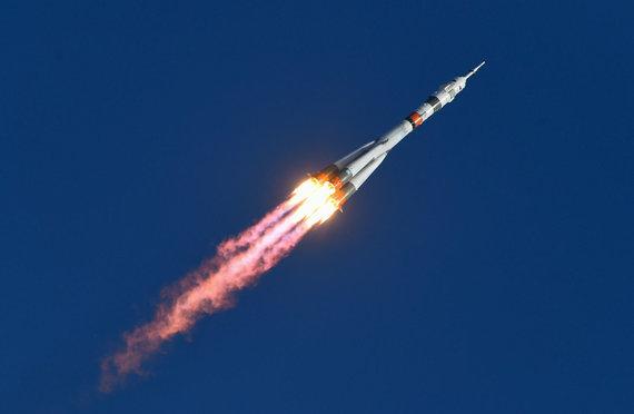 """""""Scanpix"""" nuotr./Rusija pasiuntė į kosmosą savo pirmąjį robotą FEDOR"""