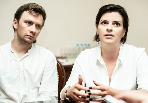 Dmitrijaus Matvejevo nuotr./Valentinas Novopolskis ir Olga Polevikova