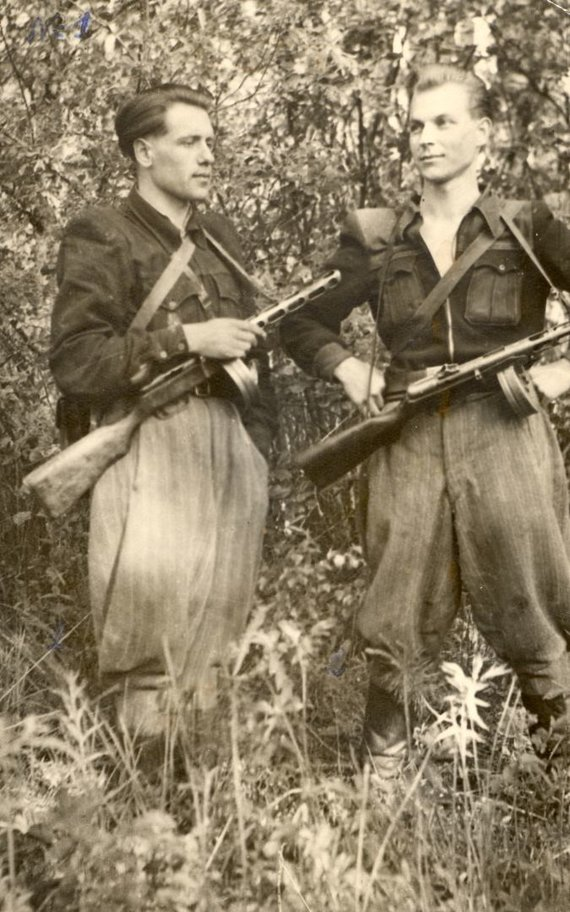 LGGRTC nuotr./Juozapas Streikus-Stumbras (dešinėje)