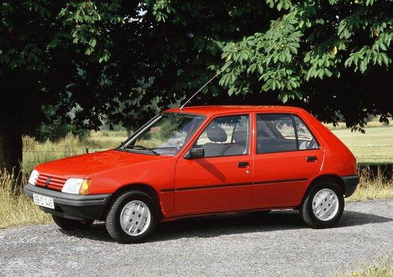 """""""Velocita"""" nuotr./1983 m. """"Peugeot 205"""""""