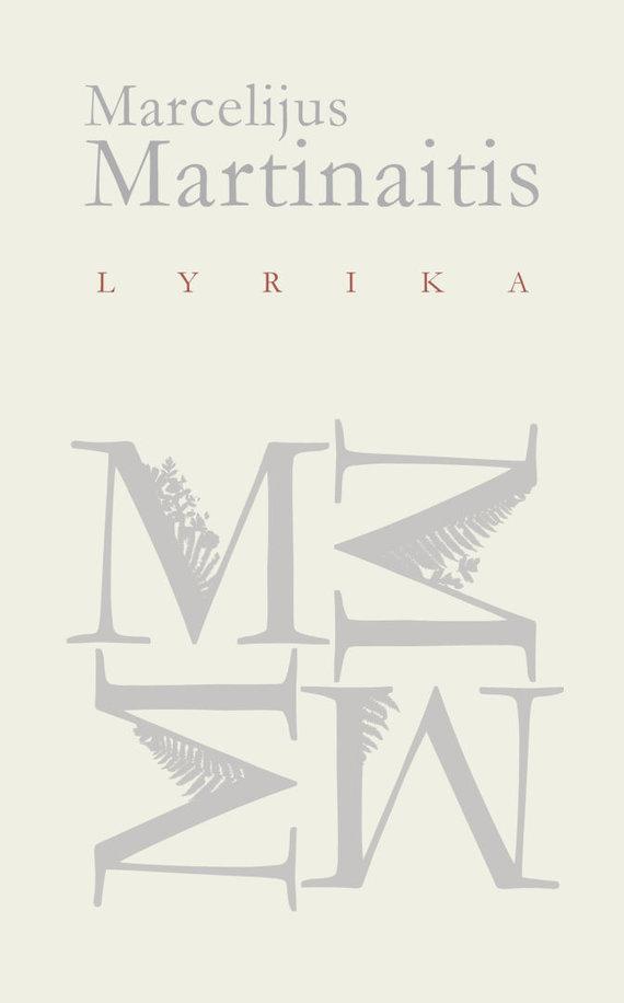 "Knygos viršelis/Marcelijus Martinaitis ""Lyrika"""