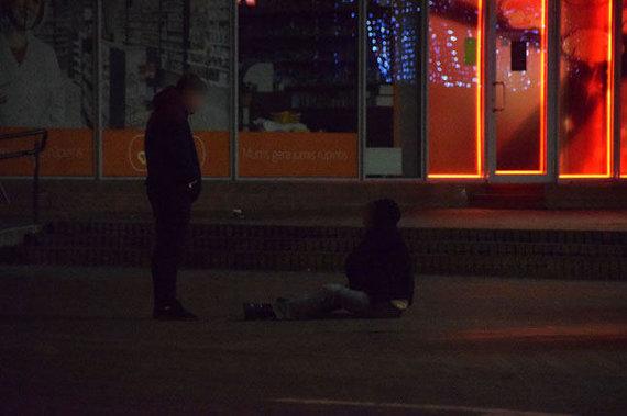 """""""Vakarų ekspreso"""" nuotr./Gyvenimas naktinėje Klaipėdoje"""