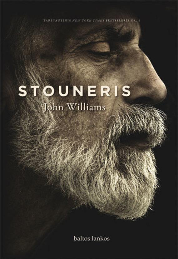 """Knygos viršelis/John Williams """"Stouneris"""""""