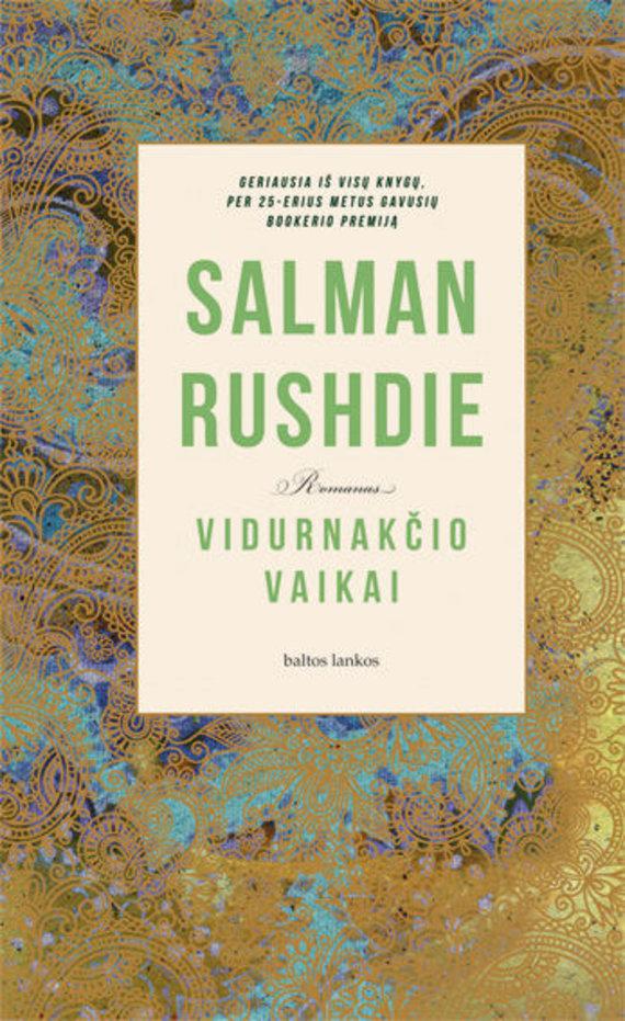 """Knygos viršelis/Salman Rushdie """"Vidurnakčio vaikai"""""""