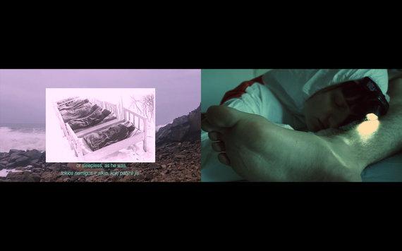 """Organizatorių nuotr./Kadras iš filmo """"Šešėlių liežuviai"""", (rež. Ellie Hunter ir Anastasia Sosunova, 2020 m)"""