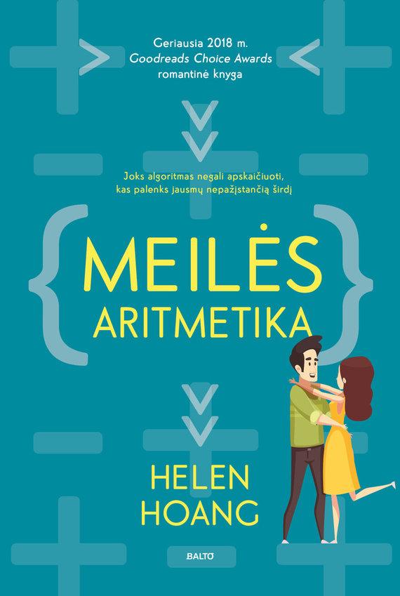 """BALTO leidybos namų nuotr./Helen Hoang """"Meilės aritmetika"""""""
