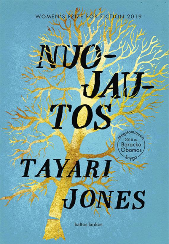 """Knygos viršelis/Tayari Jones """"Nuojautos"""""""