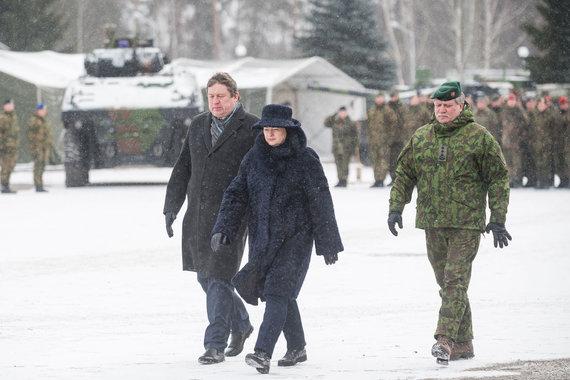 Alfredo Pliadžio nuotr./Raimundas Karoblis ir Dalia Grybauskaitė