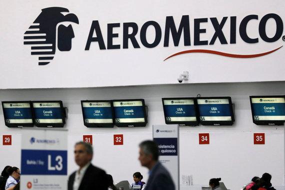 """Reuters""/""Scanpix"" nuotr./""Aeromexico"" logotipas"