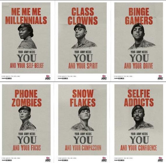 """JK Gynybos ministerijos nuotrauka/Kampanija """"Tavo kariuomenei tavęs reikia"""""""