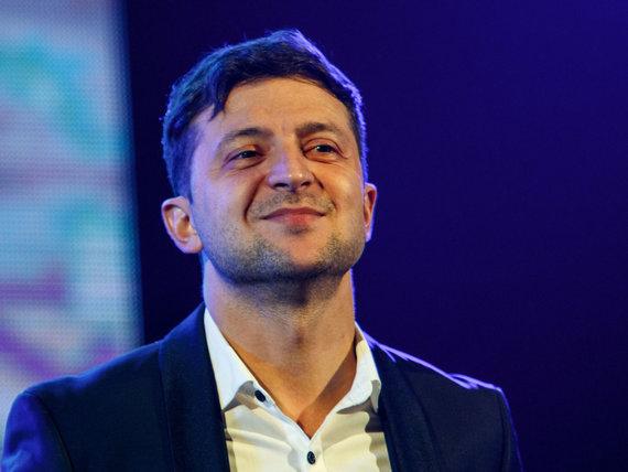 """AFP/""""Scanpix"""" nuotr./Volodymyras Zelenskis"""