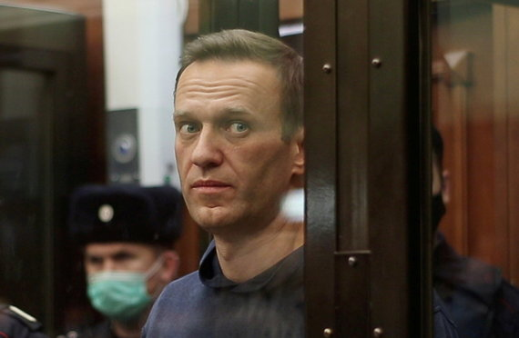 Reuters / Photo by Scanpix / Alexei Navalnas in court
