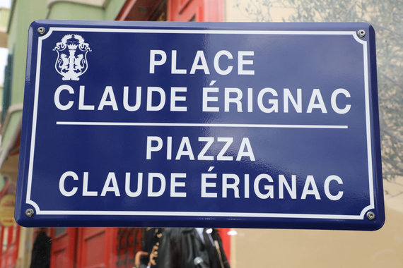 """Scanpix""/""SIPA"" nuotr./Claude'o Erignaco gatvė"