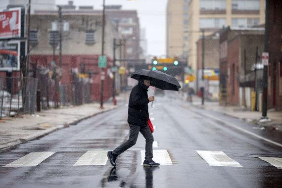 "AFP/""Scanpix"" nuotr./Audra Filadelfijoje"
