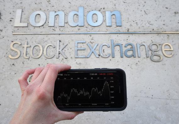 """""""Scanpix"""" nuotr./Londono vertybinių popierių birža"""