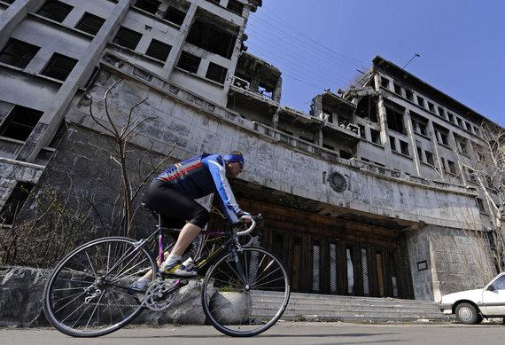 """""""Scanpix""""/AP nuotr./NATO bombardavimo Serbijoje padariniai"""