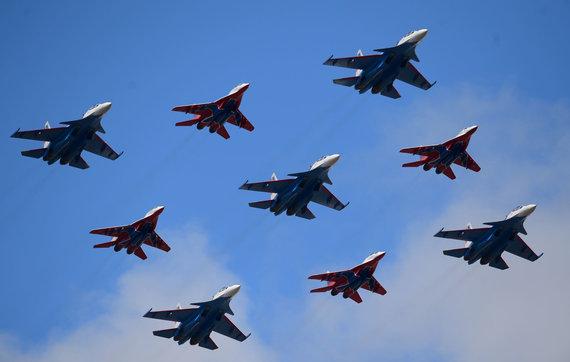 """""""Sputnik"""" nuotr./Naikintuvai MiG-29"""