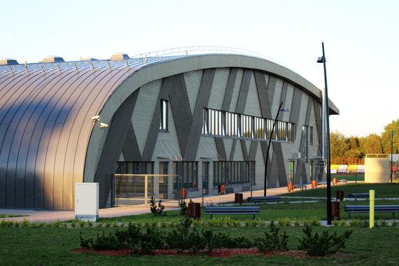 Organizatorių nuotr./Palangos sporto arena