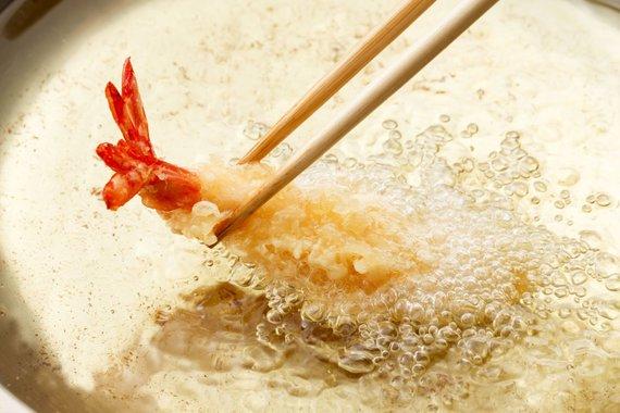 123RF.com nuotr./Krevetės tempura tešloje
