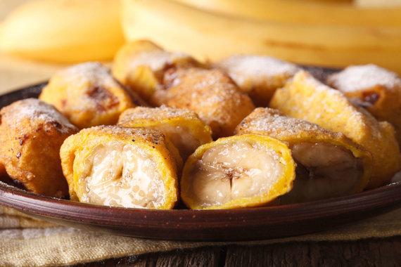 123RF.com nuotr./Kepti bananai, kiniški desertai