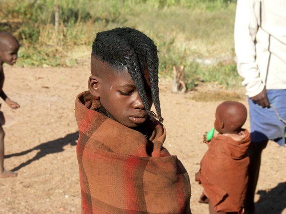 """Kelionių organizatoriaus """"GRŪDA"""" nuotr./Himbų gentis"""